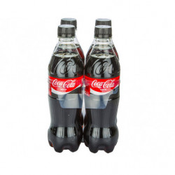 Coca-Cola Zero Botellas (Pack 4 x 50cl)
