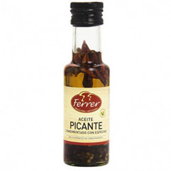 Aceite Picante Ferrer Condimentado con Especias 125ml