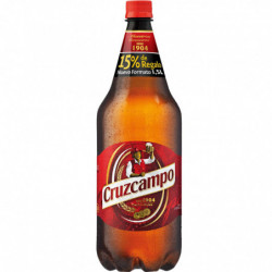Cerveza Cruzcampo Botella Future 1,5L 4,8% 1ud.