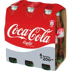 Coca-Cola Light Botellín de Vidrio (Pack 6x20cl)