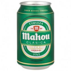 Cerveza Mahou Clásica Lata 33cl 4,8%