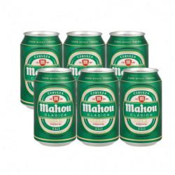 Cerveza Mahou Clásica (Pack6 x 33cl) 4,8%