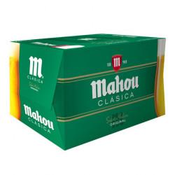 Cerveza Mahou Clásica ((Pack24 x 33cl) 4,8%
