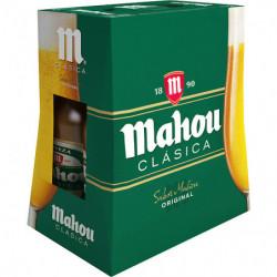 Cerveza Mahou Clásica (Pack6 x 25cl)