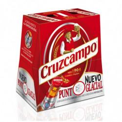 Cerveza Cruzcampo Botella (Pack6 x 25cl) 4,8%