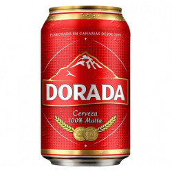 Cerveza Dorada Lata 33cl 4,7%