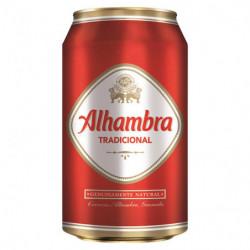 Cerveza Alhambra Tradicional Lata 33cl 4,6%