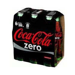 Coca-Cola Zero Botellín de Vidrio (Pack 6x20cl)