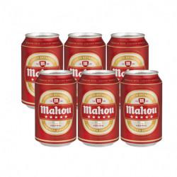Cerveza Mahou Cinco Estrellas Lata (Pack6 x 33cl)