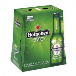 Cerveza Heineken (Pack6 x 25cl) 5%