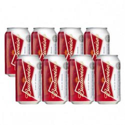 Cerveza Budweiser Lata (Pack8 x 33 cl)