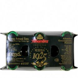 Cerveza Alhambra Reserva 1925 (Pack 6 x 33cl) 6,4%