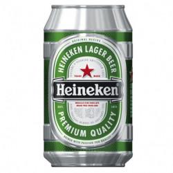 Cerveza Heineken Lata 33cl 5%