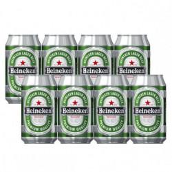 Cerveza Heineken Lata (Pack8 x 33cl) 5%